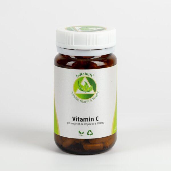 100% Natürliches Vitamin C (180 Kapseln à 420mg) aus Acerolakirschen