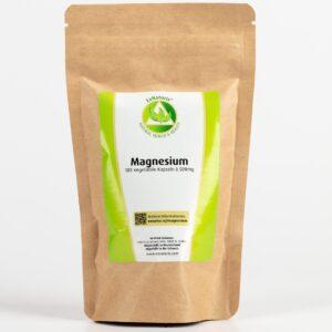 Magnesium (180 Kapseln à 500mg, 100% Trimagnesiumdicitrat) (Nachfüllbeutel)