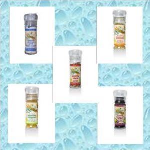 (Kräuter)Salz und Pfeffer