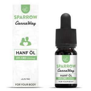 CannaWay CBD Hanf Öl 20%