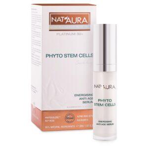Nat'aura Aktivierendes Antiaging Serum mit Bio-Boragesamenöl 30+ 30ml