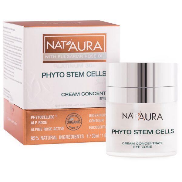 Nat'aura Augencreme-Konzentrat mit Bio-Boragesamenöl 30+ (30ml)
