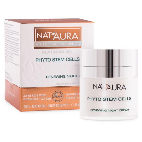 Nat'aura Nachtcreme mit Bio-Boragesamenöl 30+ (50ml)