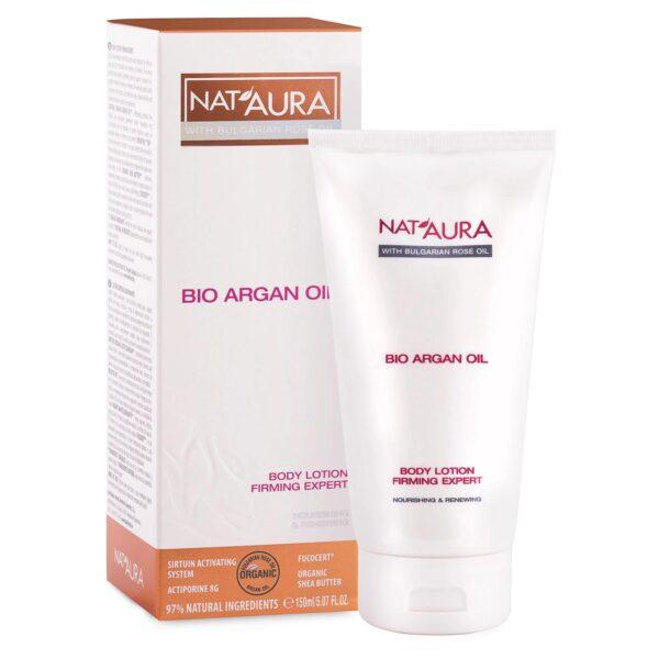Nat'aura Bodylotion mit Bio-Arganöl (150ml)