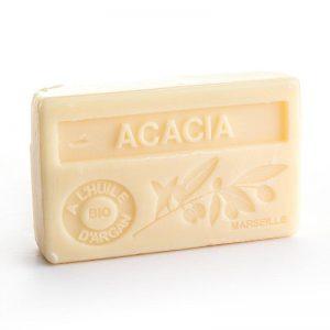 """Marseille-Seife mit Bio-Arganöl """"Acacia"""" (100gr.)"""