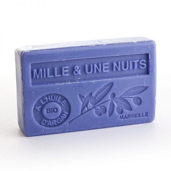 """Marseille-Seife mit Bio-Arganöl """"Mille & une Nuits"""" (100gr.)"""