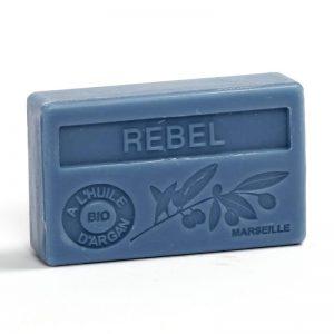 """Marseille-Seife mit Bio-Arganöl """"Rebel"""" (100gr.)"""