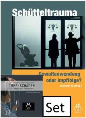 Set: Schütteltrauma - Gewaltanwendung oder Impffolge? Kleinbuch und DVD